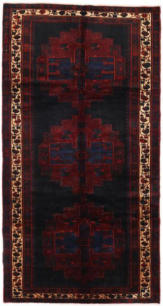Saveh Sag 152X288 Autentični  Orijentalni Ručno Uzlan Staza Za Hodnik  Tamnocrvena (Vuna, Perzija/Iran)