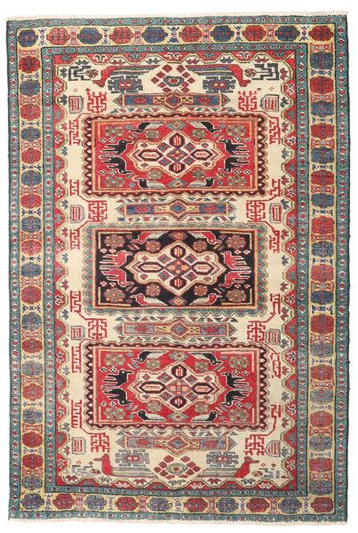Ardebil Patine Sag 105X157 Autentični  Orijentalni Ručno Uzlan Tamnosiva/Smeđa (Vuna, Perzija/Iran)
