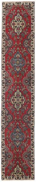 Tabriz Patine Sag 80X430 Autentični  Orijentalni Ručno Uzlan Staza Za Hodnik  Tamnocrvena/Tamnosmeđa (Vuna, Perzija/Iran)
