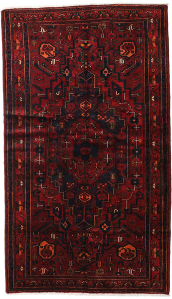 Hamadan Sag 143X248 Autentični  Orijentalni Ručno Uzlan Tamnocrvena (Vuna, Perzija/Iran)