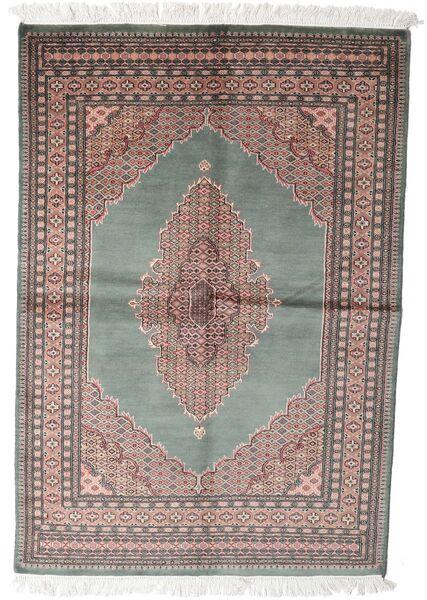 Pakistan Bokhara 3Ply Sag 143X208 Autentični  Orijentalni Ručno Uzlan Tamnosiva/Bijela/Krem (Vuna, Pakistan)