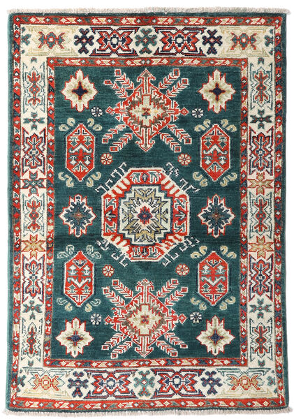 Kazak Sag 87X126 Autentični  Orijentalni Ručno Uzlan Plava/Bež (Vuna, Afganistan)