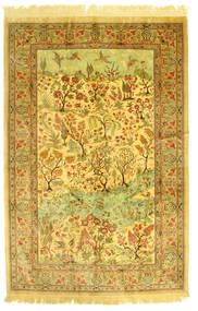 Ghom Svila Slikoviti Sag 131X198 Autentični  Orijentalni Ručno Uzlan (Svila, Perzija/Iran)