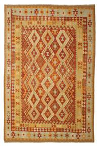Ćilim Afghan Old Style Sag 197X293 Autentični  Orijentalni Ručno Tkani (Vuna, Afganistan)