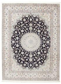 Nain 6La Potpisan: Habibian Sag 205X271 Autentični  Orijentalni Ručno Uzlan (Vuna/Svila, Perzija/Iran)