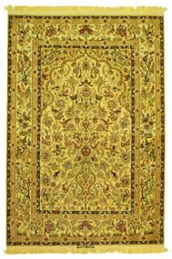 Isfahan Svila Warp Slikoviti Potpisan: Nasr Sag 142X210 Autentični  Orijentalni Ručno Uzlan (Vuna/Svila, Perzija/Iran)