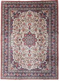 Sarough Sherkat Farsh Sag 220X301 Autentični  Orijentalni Ručno Uzlan Tamnosmeđa/Tamnoljubičasta (Vuna, Perzija/Iran)