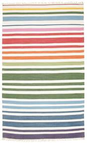 Rainbow Stripe - White Sag 180X280 Autentični  Moderni Ručno Tkani Bež/Bijela/Krem (Pamuk, Indija)