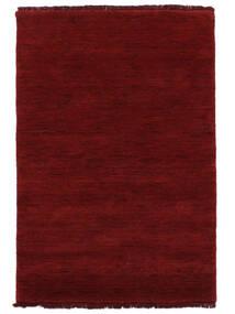 Handloom Fringes - Tamno Crvena Sag 160X230 Moderni Grimizno Crvena (Vuna, Indija)