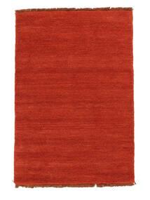 Handloom Fringes - Rust/Crvena Sag 140X200 Moderni Hrđavo Crvena (Vuna, Indija)