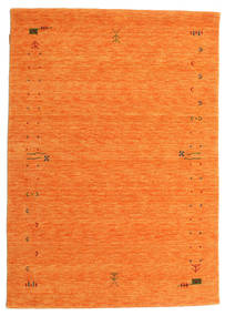 Gabbeh Loom Frame - Narandžasta Sag 140X200 Moderni Narančasta (Vuna, Indija)