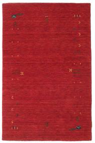 Gabbeh Loom Frame - Rust Crvena Sag 100X160 Moderni Grimizno Crvena (Vuna, Indija)