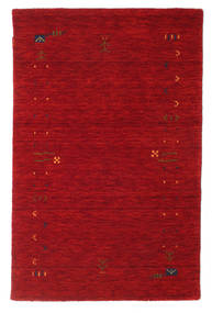 Gabbeh Loom Frame - Crvena Sag 100X160 Moderni Grimizno Crvena/Tamnocrvena (Vuna, Indija)