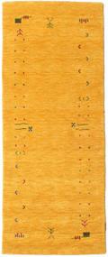 Gabbeh Loom Frame - Yellow Sag 80X200 Moderni Staza Za Hodnik Narančasta (Vuna, Indija)