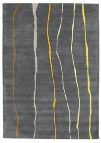 Flaws Handtufted - Siva Sag 160X230 Moderni Tamnosiva/Svjetlosiva (Vuna, Indija)