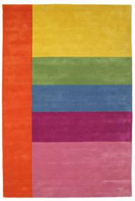 Colors By Meja Handtufted Sag 200X300 Moderni Ružičasta/Žuta (Vuna, Indija)
