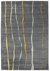 Flaws Handtufted - Siva Sag 200X300 Moderni Svjetlosiva/Tamnosiva/Plava (Vuna, Indija)