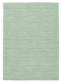 Ćilim Loom - Mint Zelena Sag 140X200 Autentični  Moderni Ručno Tkani Pastelno Zelena/Tirkizno Plava (Vuna, Indija)