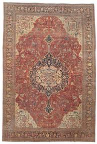 Farahan Sag 368X550 Autentični Orijentalni Ručno Uzlan Tamnocrvena/Smeđa Veliki (Vuna, Perzija/Iran)
