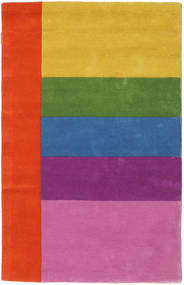 Colors By Meja Handtufted Sag 100X160 Moderni Ružičasta/Hrđavo Crvena (Vuna, Indija)