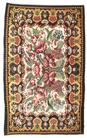 Rosekelim Moldavia Sag 189X307 Autentični  Orijentalni Ručno Tkani Tamnosiva (Vuna, Moldavija)