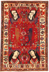 Ghashgai Slikoviti Sag 153X235 Autentični  Orijentalni Ručno Uzlan Hrđavo Crvena/Tamnocrvena (Vuna, Perzija/Iran)