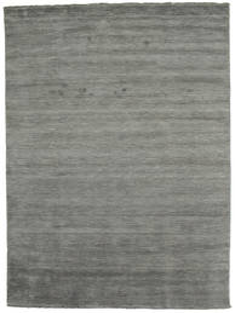 Handloom Fringes - Tamnosiva Sag 200X300 Moderni Tamnosiva (Vuna, Indija)
