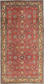 Tabriz Patine Sag 168X318 Autentični  Orijentalni Ručno Uzlan Tamnocrvena/Svjetlosmeđa (Vuna, Perzija/Iran)