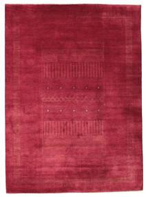 Gabbeh Loribaft Sag 203X278 Autentični Moderni Ručno Uzlan Grimizno Crvena/Tamnocrvena (Vuna, Indija)