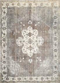 Obojeni Vintage Sag 285X393 Autentični  Moderni Ručno Uzlan Svjetlosiva/Tamna Bež Veliki (Vuna, Perzija/Iran)