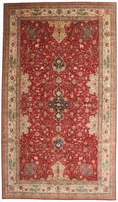 Tabriz 50 Raj Potpisan Torabi Sag 378X660 Autentični  Orijentalni Ručno Uzlan Tamnocrvena/Smeđa Veliki (Vuna/Svila, Perzija/Iran)