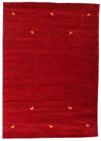 Gabbeh Loom Two Lines - Crvena Sag 160X230 Moderni Grimizno Crvena/Tamnocrvena (Vuna, Indija)