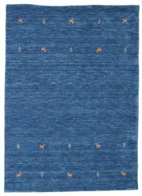 Gabbeh Loom Two Lines - Plava Sag 140X200 Moderni Tamnoplava/Plava (Vuna, Indija)