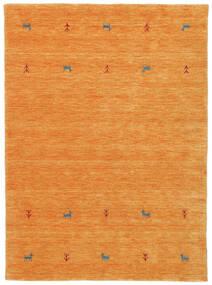 Gabbeh Loom Two Lines - Narandžasta Sag 140X200 Moderni Narančasta (Vuna, Indija)