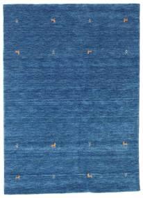 Gabbeh Loom Two Lines - Plava Sag 160X230 Moderni Tamnoplava/Plava (Vuna, Indija)