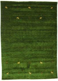 Gabbeh Loom Two Lines - Zelena Sag 160X230 Moderni Tamnozelena (Vuna, Indija)