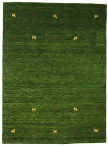 Gabbeh Loom Two Lines - Zelena Sag 140X200 Moderni (Vuna, Indija)