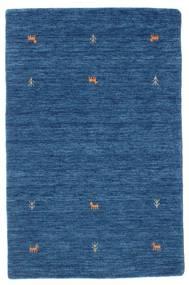 Gabbeh Loom Two Lines - Plava Sag 100X160 Moderni Tamnoplava/Plava (Vuna, Indija)