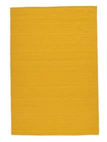 Ćilim Loom - Yellow Sag 160X230 Autentični Moderni Ručno Tkani Narančasta (Vuna, Indija)