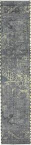 Obojeni Vintage Sag 57X278 Autentični  Moderni Ručno Uzlan Staza Za Hodnik  Svjetlosiva/Plava (Vuna, Perzija/Iran)