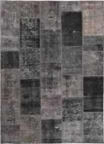 Patchwork Sag 165X237 Autentični  Moderni Ručno Uzlan Tamnosiva/Smeđa (Vuna, Perzija/Iran)