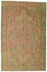 Obojeni Vintage Sag 183X284 Autentični  Moderni Ručno Uzlan Svjetlosmeđa/Svjetlozelena (Vuna, Turska)