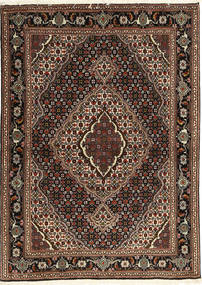 Tabriz 40 Raj Sag 107X149 Autentični Orijentalni Ručno Uzlan Tamnocrvena/Tamnosmeđa (Vuna/Svila, Perzija/Iran)