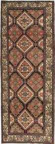 Hamadan Patine Sag 105X285 Autentični  Orijentalni Ručno Uzlan Staza Za Hodnik  Smeđa/Tamnosiva (Vuna, Perzija/Iran)