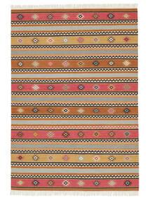 Ćilim - Nezzim - Nezzim Sag 170X240 Autentični  Moderni Ručno Tkani Svjetlosmeđa/Svjetlosiva ( Indija)
