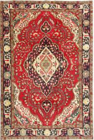 Tabriz Sag 200X298 Autentični  Orijentalni Ručno Uzlan Tamnocrvena/Tamnosmeđa (Vuna, Perzija/Iran)
