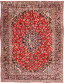 Keshan Sag 315X420 Autentični Orijentalni Ručno Uzlan Tamnocrvena/Hrđavo Crvena Veliki (Vuna, Perzija/Iran)