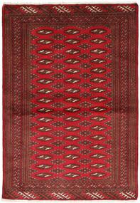 Turkaman Sag 101X147 Autentični Orijentalni Ručno Uzlan Tamnocrvena/Tamnosmeđa/Grimizno Crvena (Vuna, Perzija/Iran)