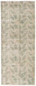 Obojeni Vintage Sag 92X226 Autentični  Moderni Ručno Uzlan Staza Za Hodnik  Svjetlosiva/Tamna Bež (Vuna, Turska)