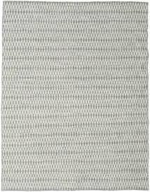 Ćilim Long Stitch - Siva Sag 190X240 Autentični  Moderni Ručno Tkani Svjetlosiva/Bež (Vuna, Indija)